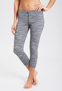 Forever 21 Space Dye Capri Leggings