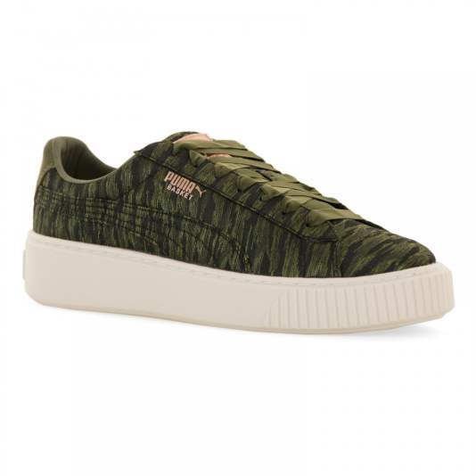 puma velvet rope trainers basket